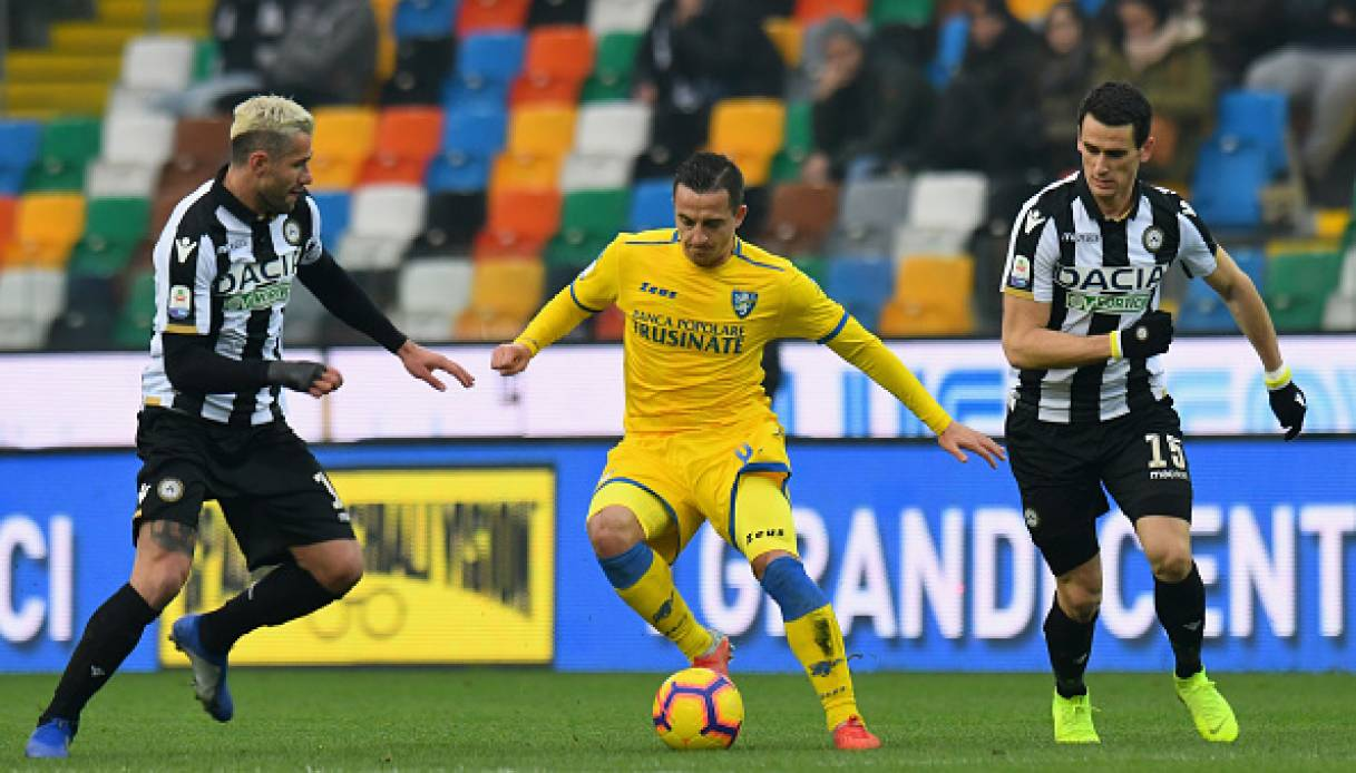 Frosinone-Udinese, Serie A