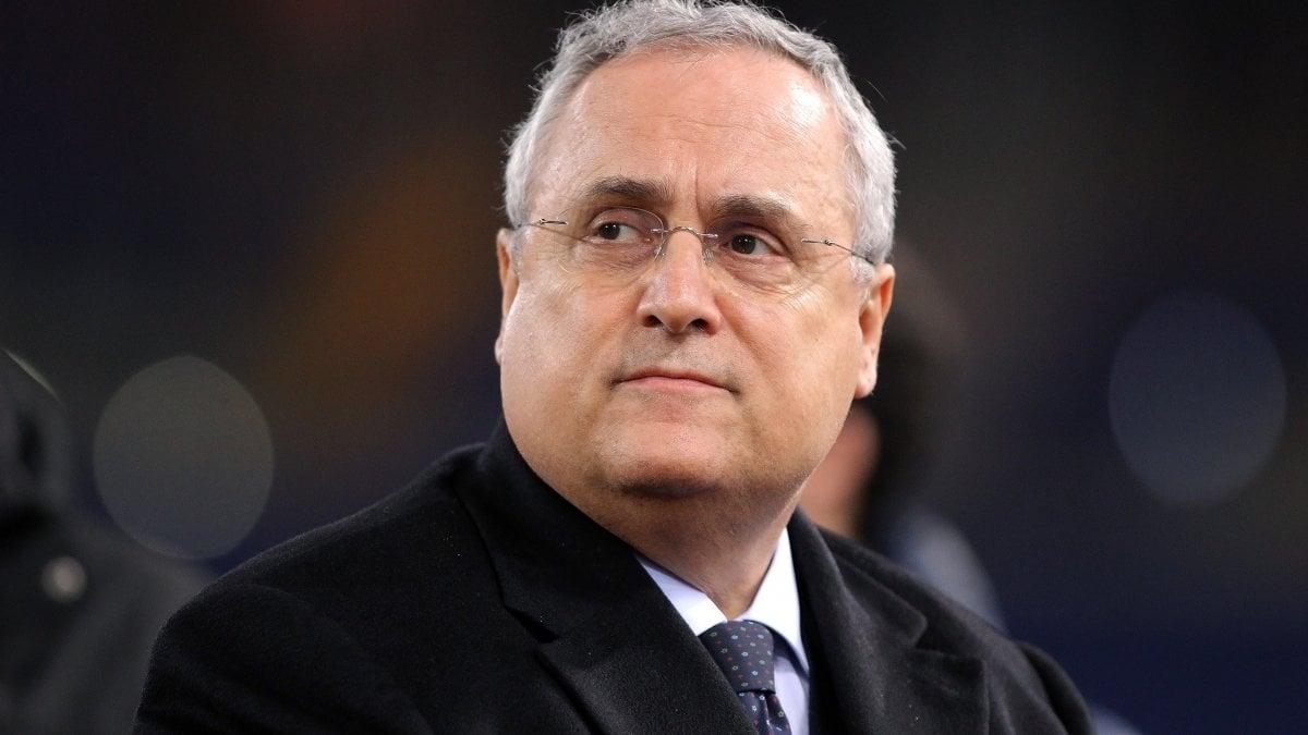 Claudio Lotito Presidente della Lazio