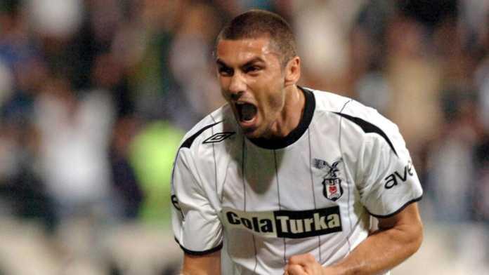Burak Yilmaz, attaccante del Besiktas