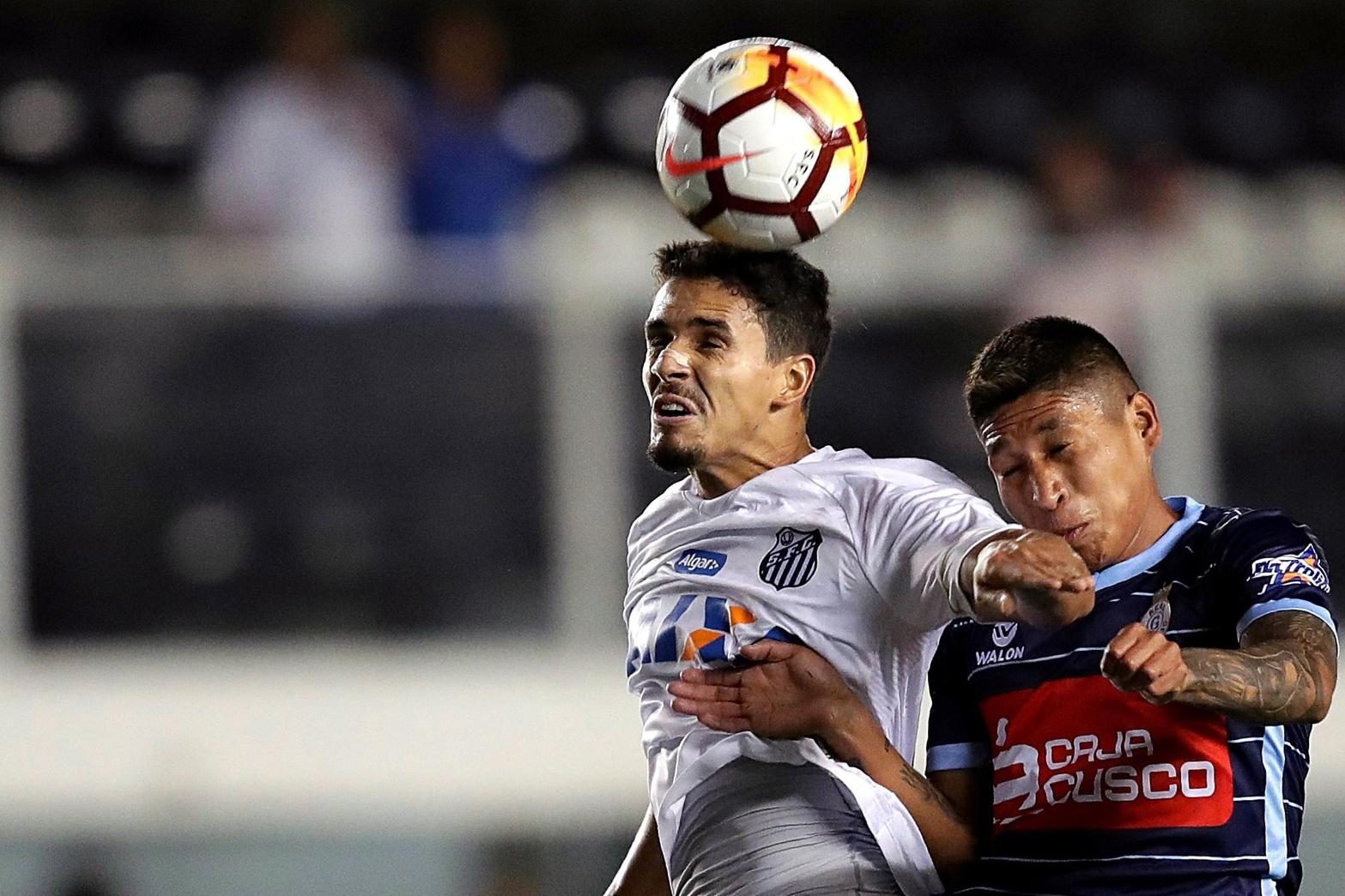 Lucas Verissimo, difensore del Santos