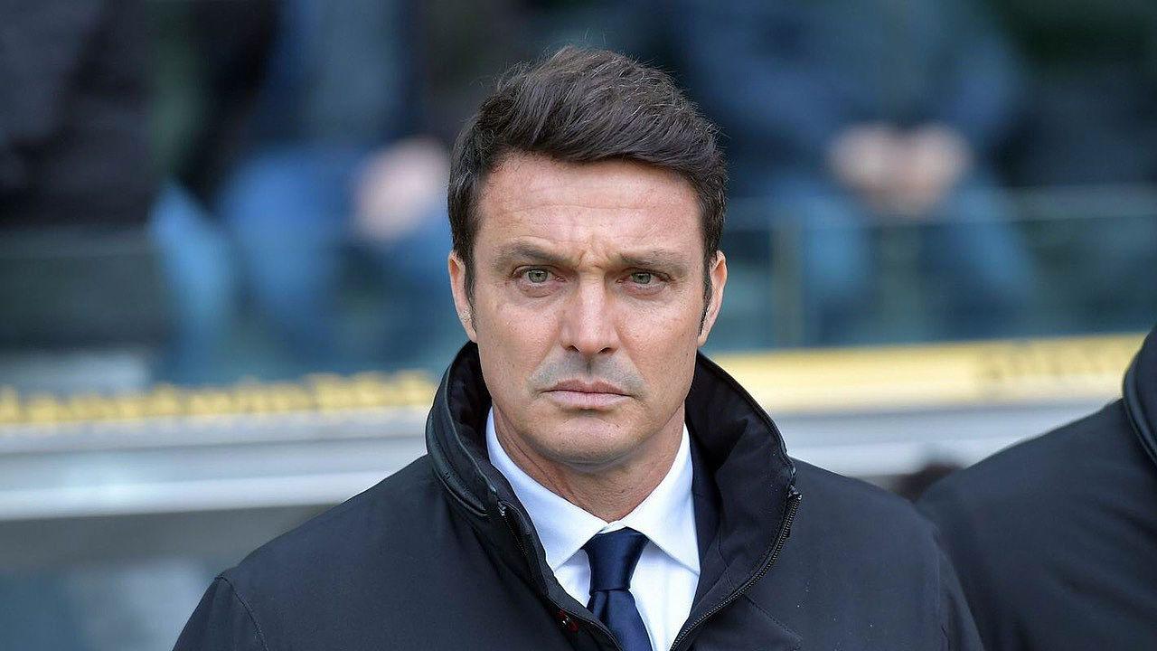 Massimo Oddo, allenatore del Pescara