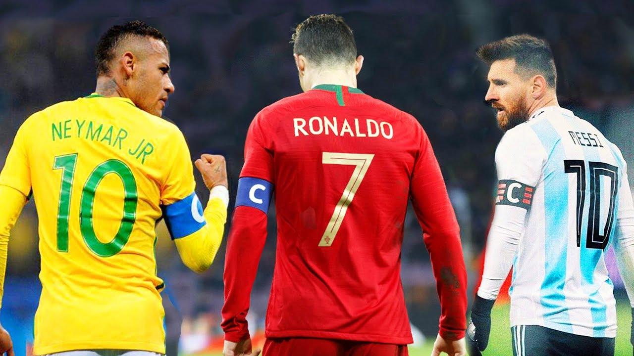 Messi, Cristiano Ronaldo e Neymar