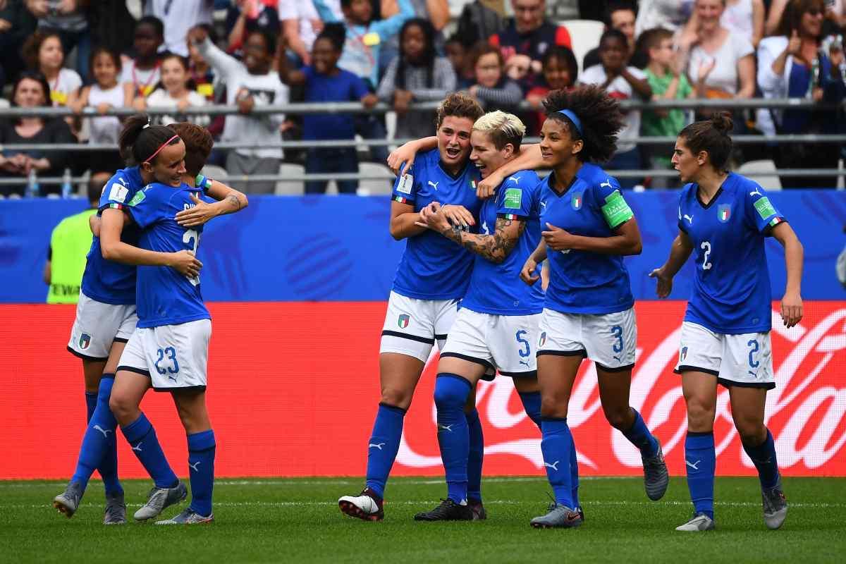 L'Italia femminile supera 5-0 la Bosnia