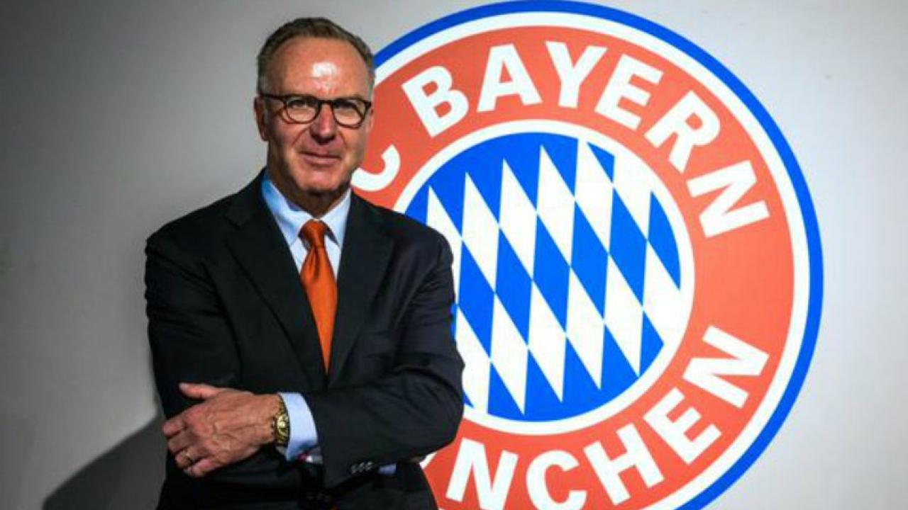 Karl Heinz Rummenigge, dirigente del Bayern Monaco