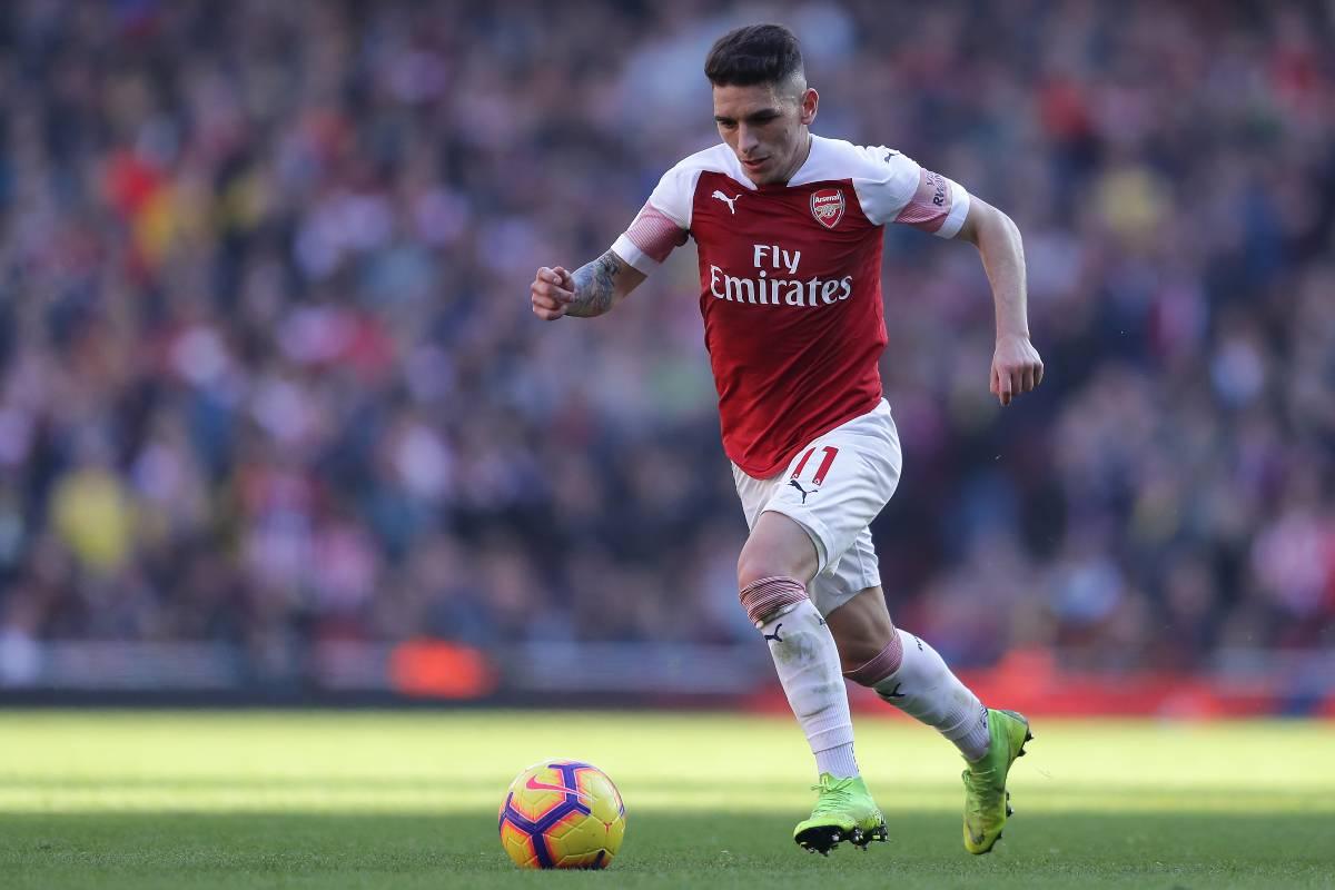 Lucas Torreira, centrocampista dell'Arsenal