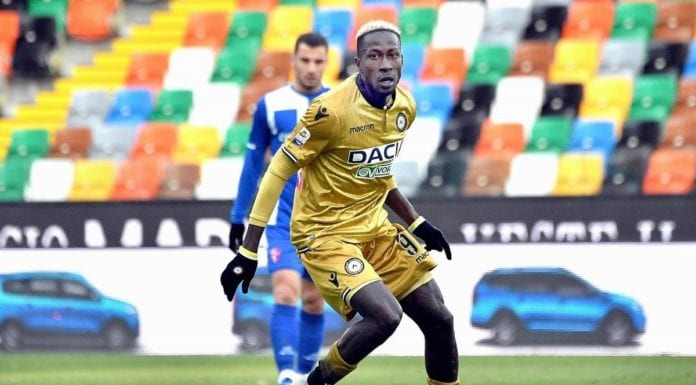 Mamadou Coulibaly, centrocampista dell'Udinese