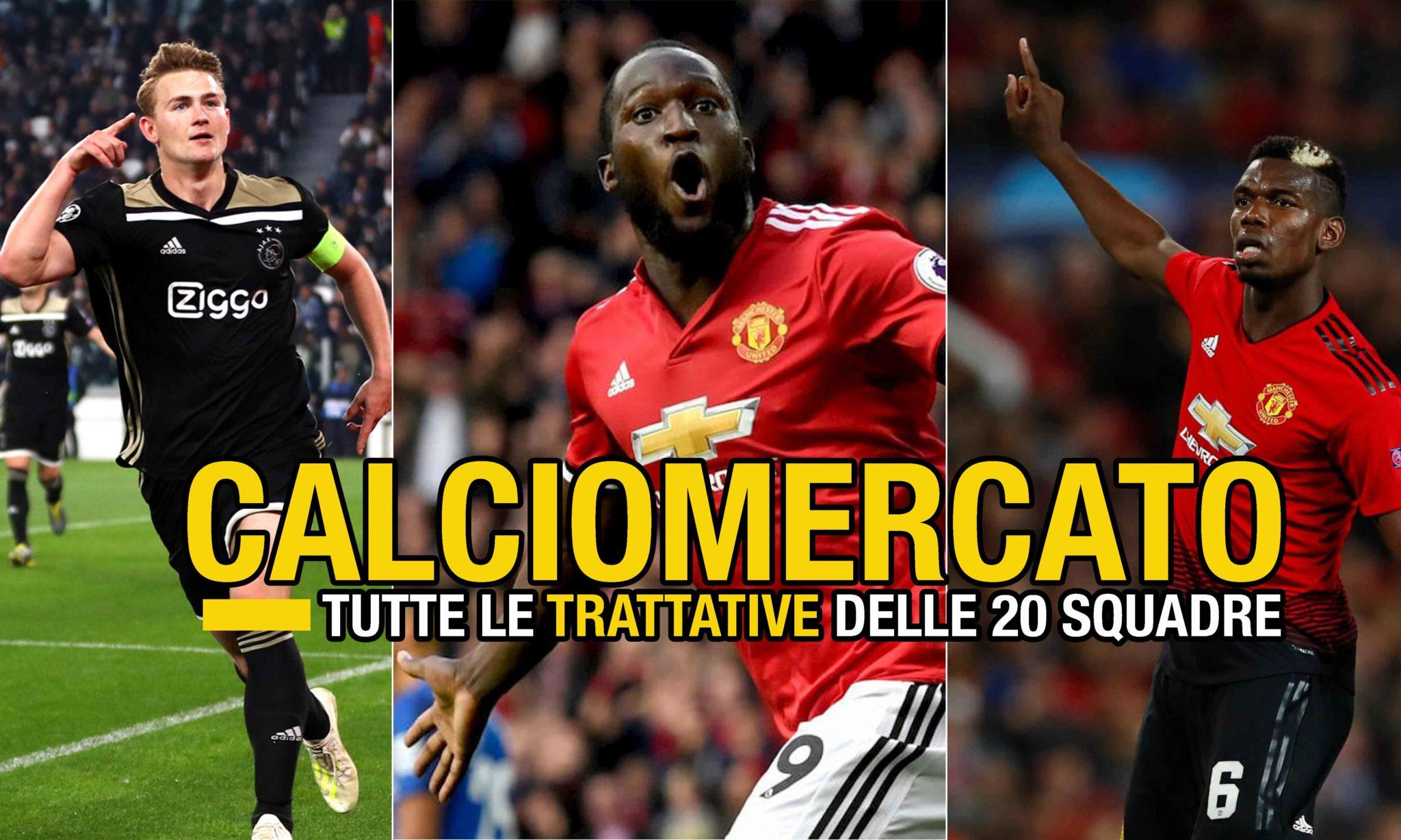 Calciomercato Serie A Acquisti Cessioni E Obiettivi Delle 20 Squadre Italiane Footballnews24 It