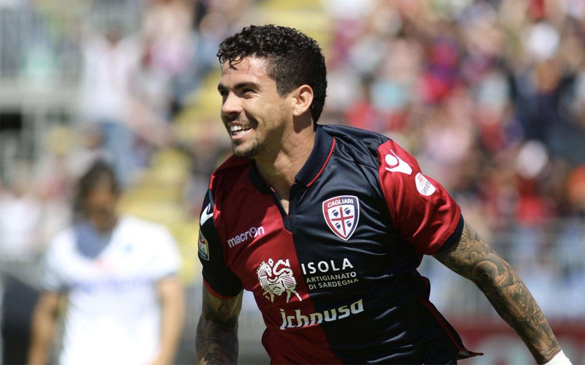 Diego Farias giocatore del Cagliari