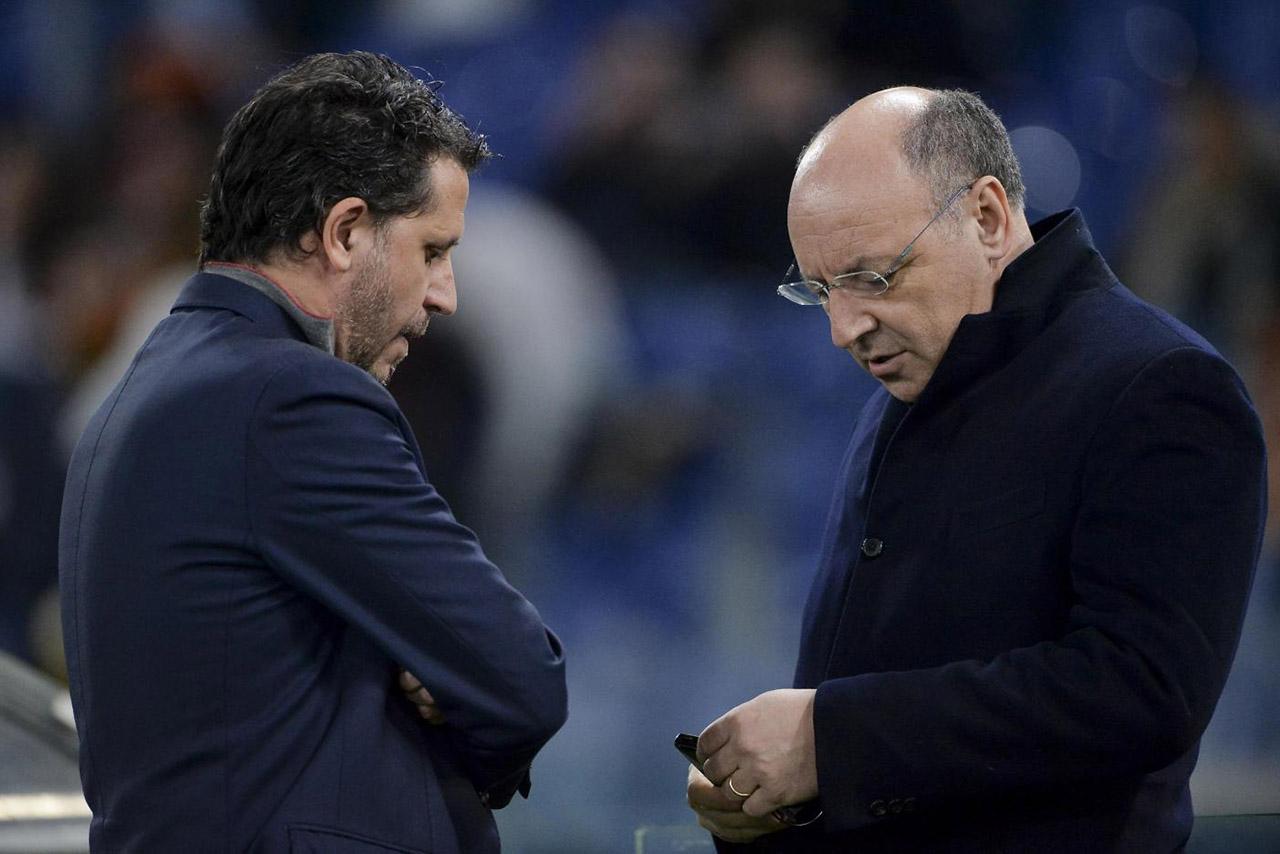 Fabio Paratici e Beppe Marotta, CFO della Juventus e Ad dell'Inter