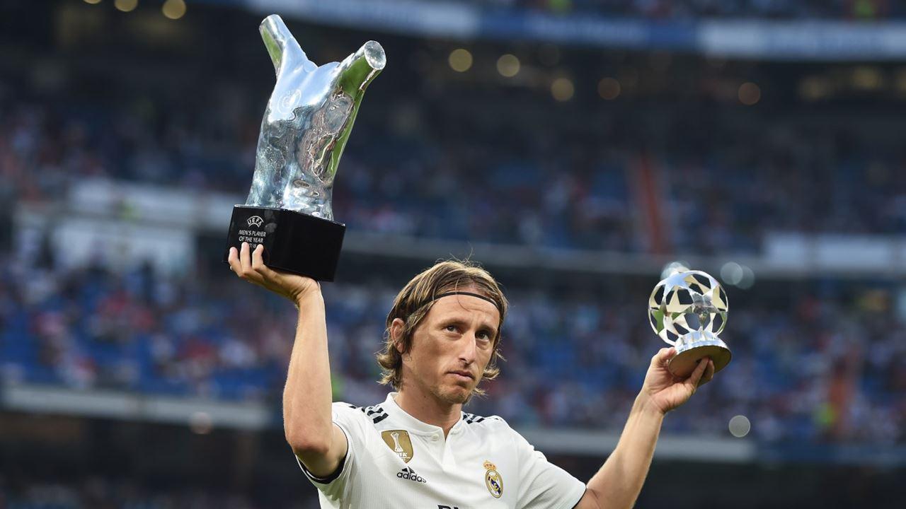 Luka Modric, centrocampista del Real Madrid