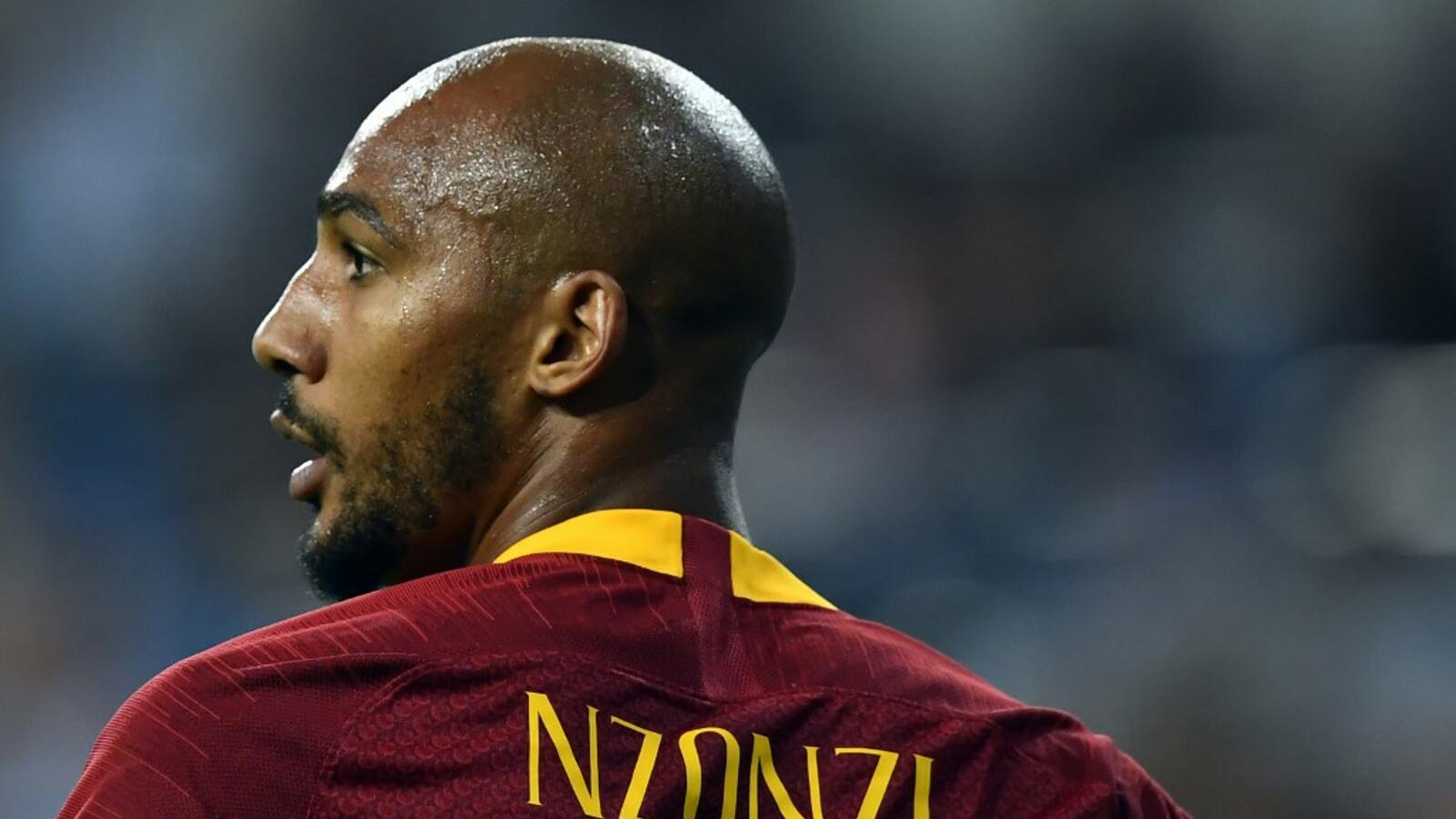 Nzonzi, centrocampista della Roma in prestito al Rennes
