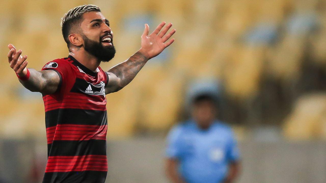 Gabigol del Flamengo