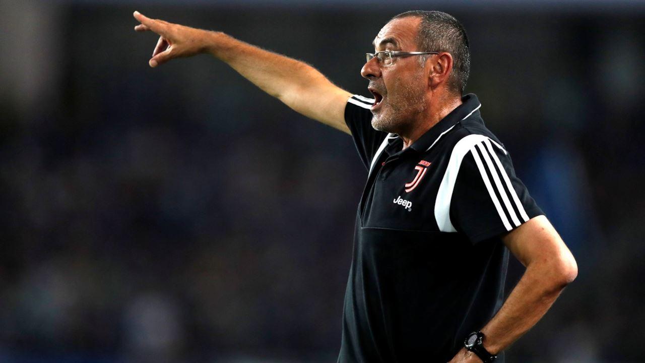 Juventus, Sarri ancora out