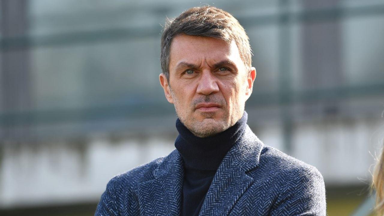 Paolo Maldini, responsabile dell'area tecnica del Milan