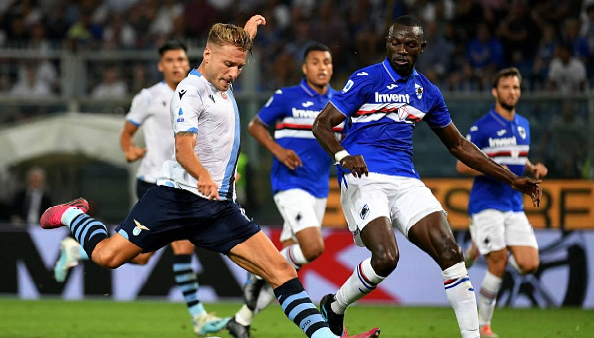 Sampdoria-Lazio streaming gratis