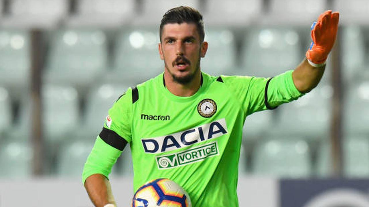 Udinese, Scuffet in prestito allo Spezia