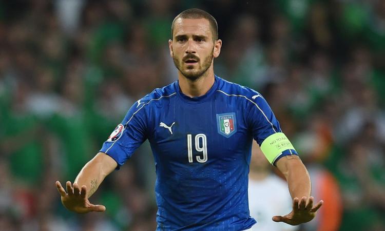 Finlandia-Italia, Bonucci raggiunge Del Piero