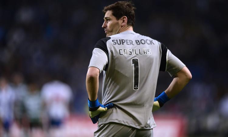 Casillas nei guai