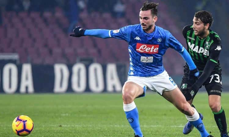 Fabian Ruiz, centrocampista del Napoli