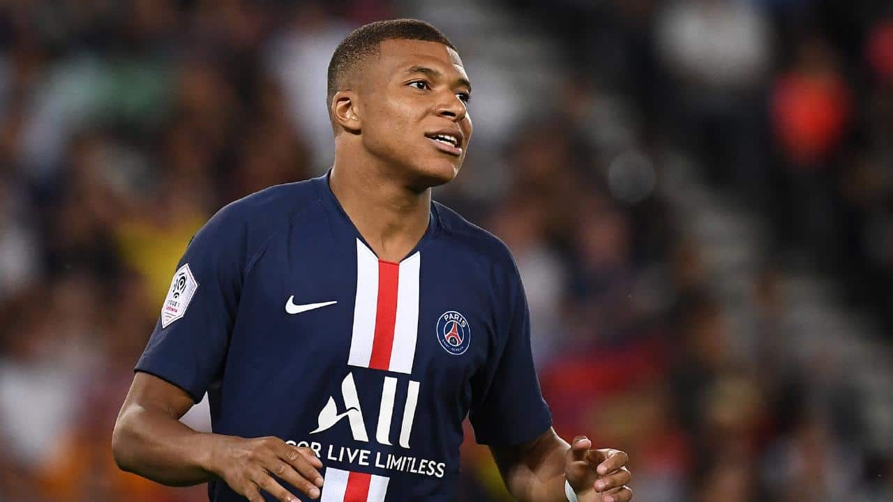 Kylian Mbappe, attaccante del Psg