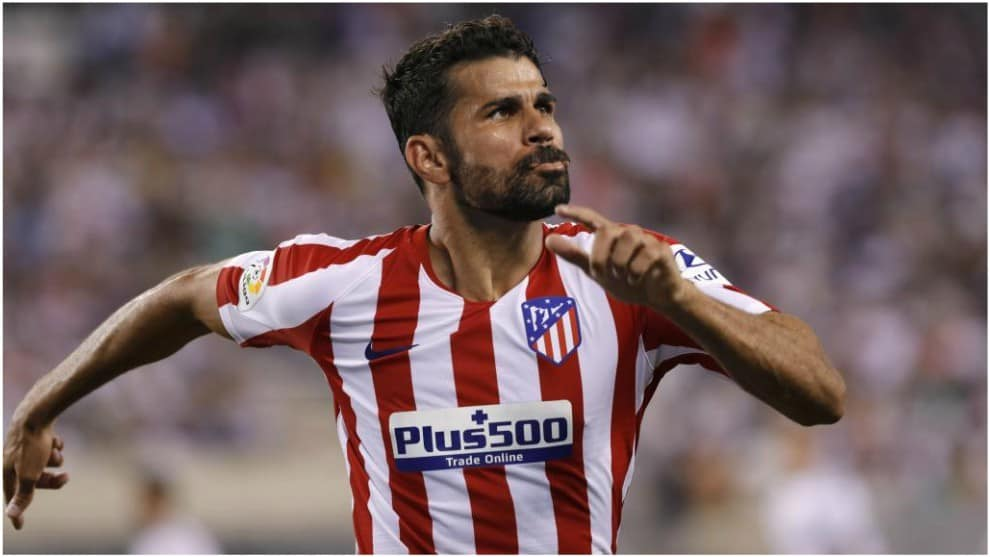 Diego Costa, attaccante dell'Atletico Madrid
