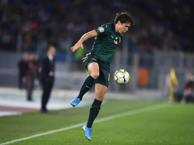 Federico Chiesa, attaccante della Fiorentina