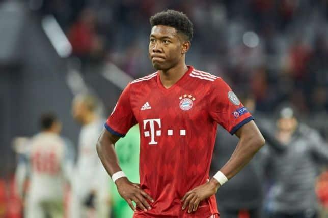 Alaba, terzino sinistro del Bayern Monaco