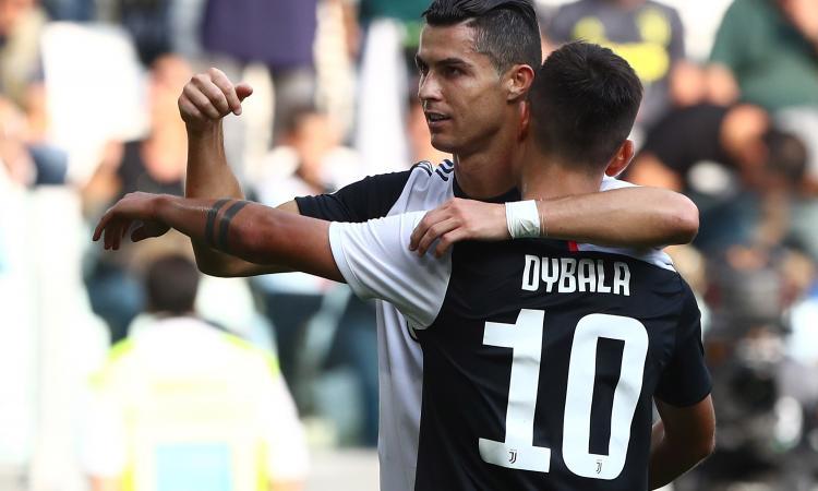 Dybala e Ronaldo