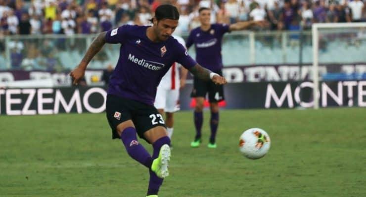 Lorenzo Venuti, difensore della Fiorentina