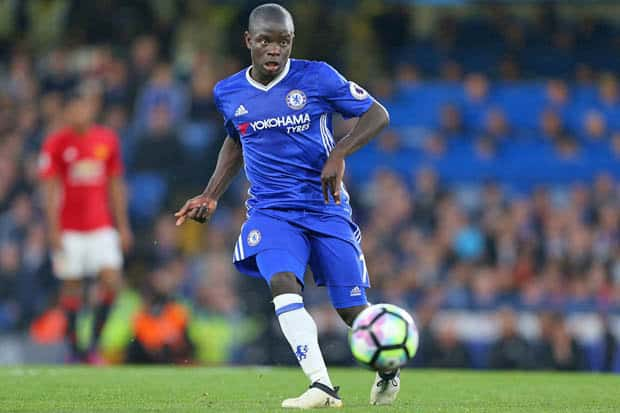 N'Golo Kantè centrocampista del Chelsea