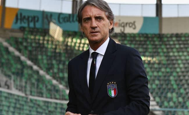 Roberto Mancini ct della nazionale italiana