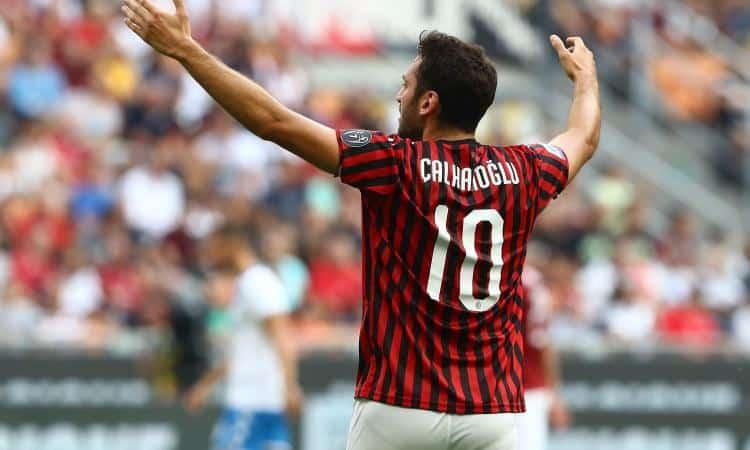 Calhanoglu, attaccante del Milan