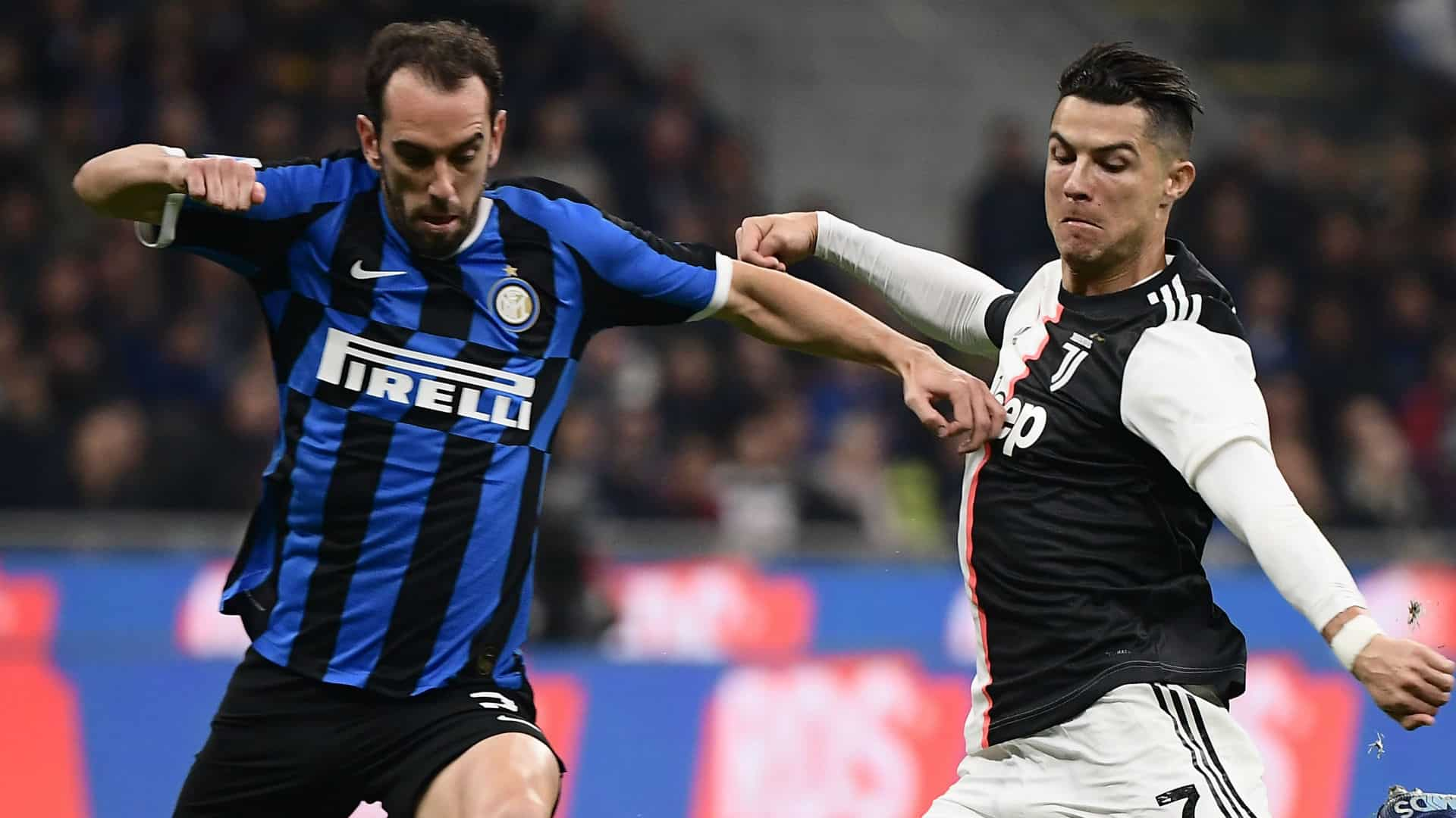 Diego Godin difensore dell'Inter