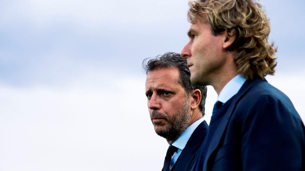 Fabio Paratici e Pavel Nedved, CFO e vice-presidente della Juventus