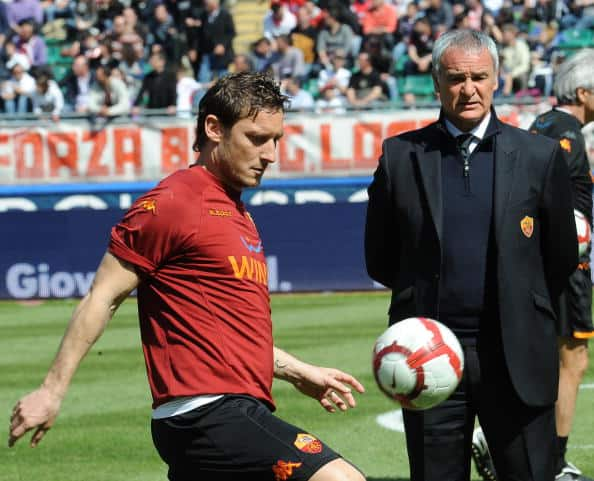 Totti e Ranieri