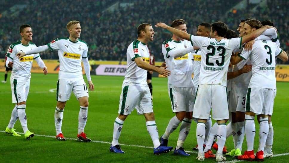 Esultanza Borussia MonchenGladbach