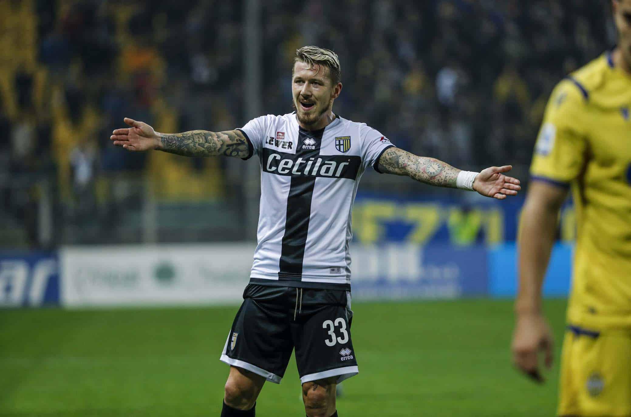 Infortunio in casa Parma: il calciatore rientra nel 2020