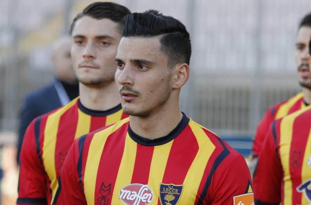 Filippo Falco, attaccante del Lecce