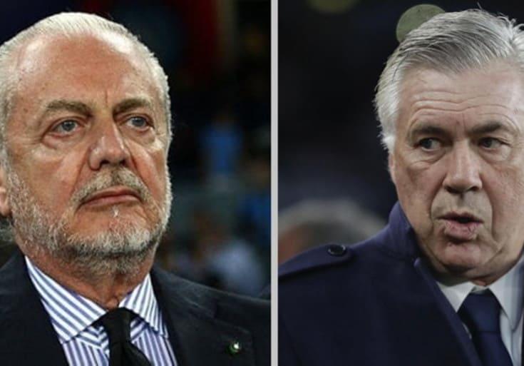 Ancelotti e De Laurentiis
