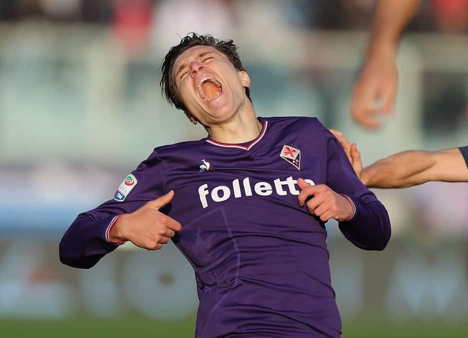 Federico Chiesa, attaccante della Fiorentina @imagephotoagency