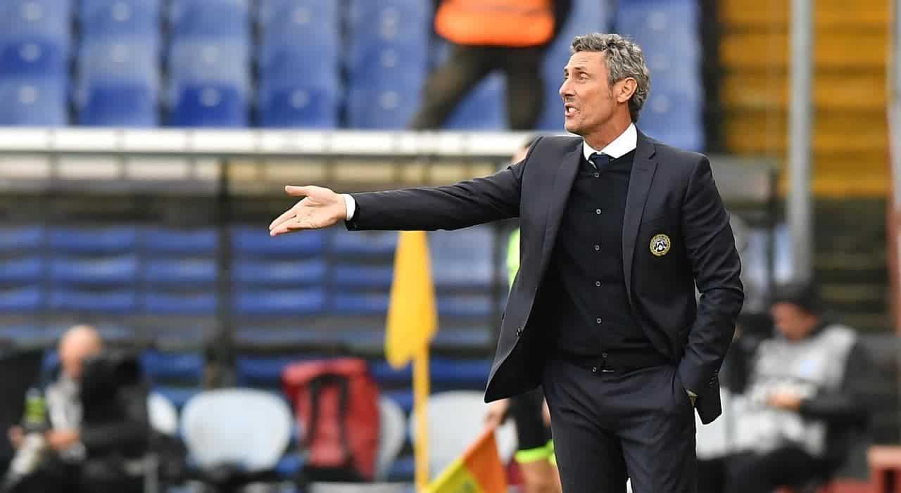 Luca Gotti, allenatore dell'Udinese