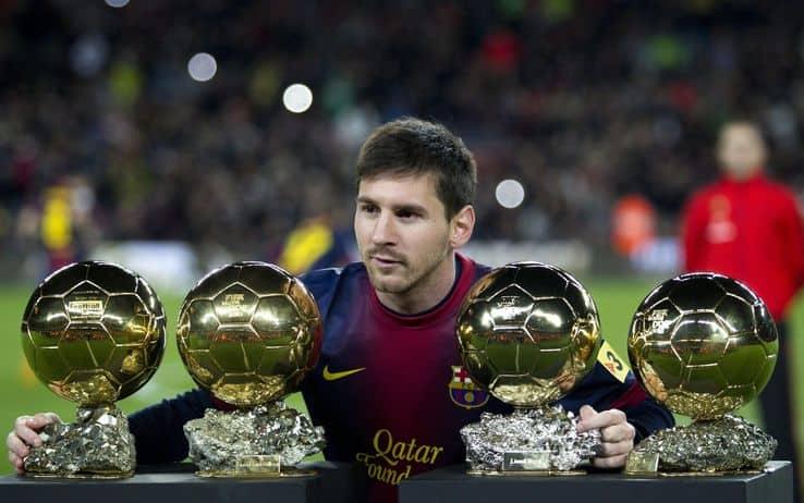 Leo Messi Pallone d'Oro
