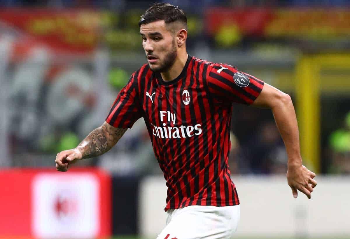 Theo Hernandez terzino del Milan