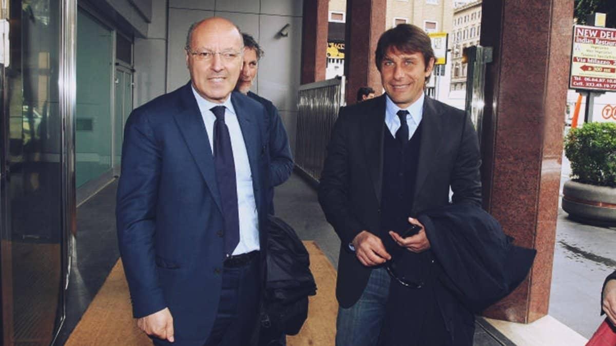 Marotta e Conte, Amministratore delegato ed allenatore dell'Inter