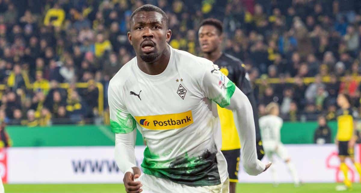 Marcus Thuram, attaccante del Borussia Monchengladbach