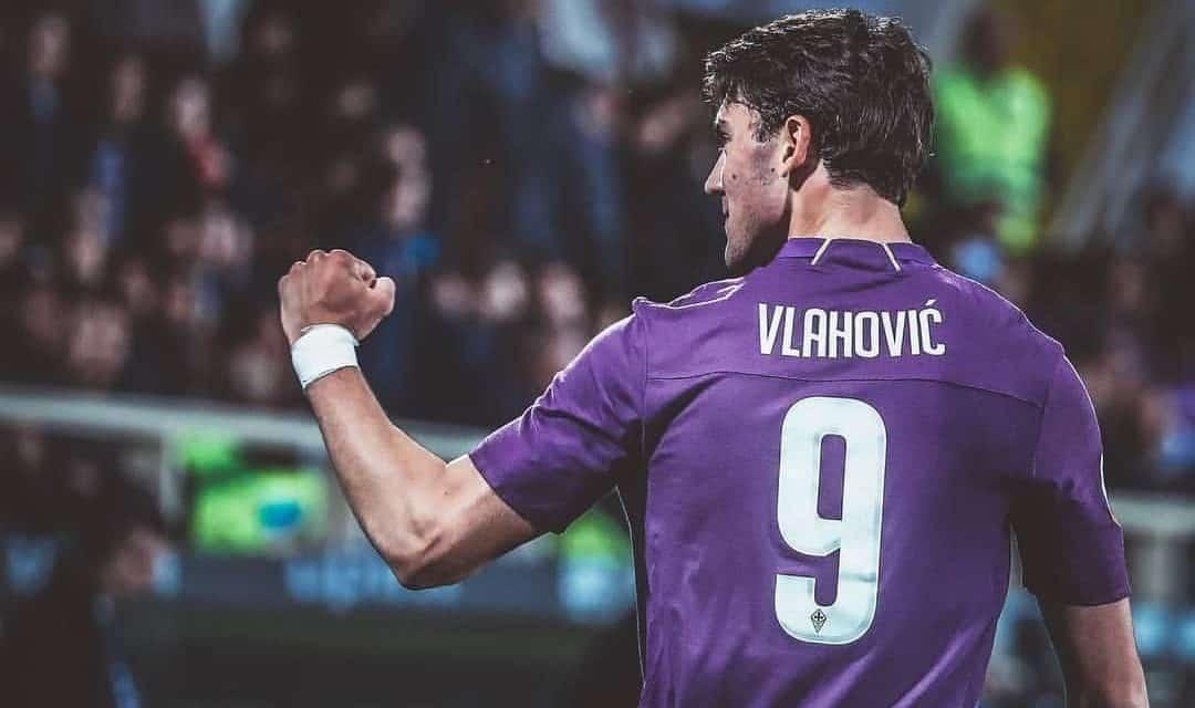 Dusan Vlahovic, attaccante della Fiorentina