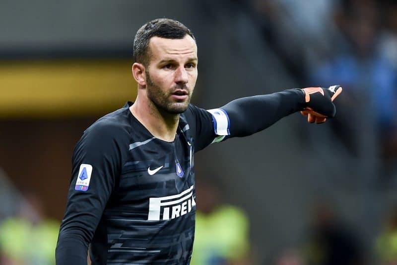 L'Inter a caccia del sostituto di Handanovic