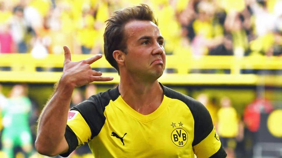 Gotze del Borussia Dortmund