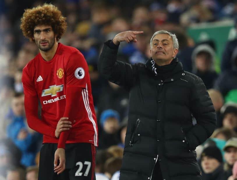 Mourinho e Fellaini