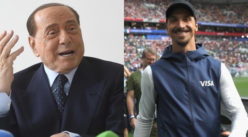 Berlusconi Ibrahimovic